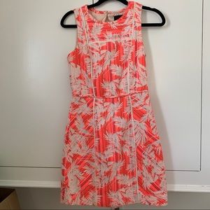 J Crew Palm Tree Dress